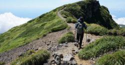 2018年8月12日 鳥海山へ湯ノ台コースから:とりあえずサクッとコース状況。