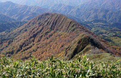2018年10月21日 晩秋の山伏岳