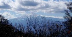 2018年11月4日 八塩山で鳥海山を愛でる