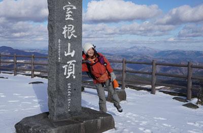 2018年12月15日 岩手県の室根山スノーハイキング