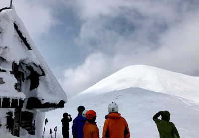 2019年3月10日 秋田駒で冬山技術講習