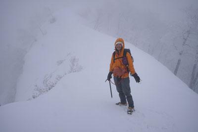 2019年3月23日 真昼岳の大浅沢新登山道を使ってみた