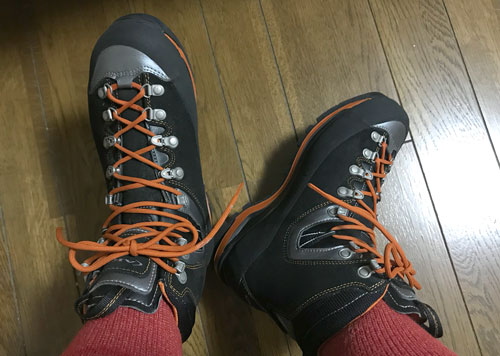 2019年9月28日 登山靴AKUのヤツミネ初出動