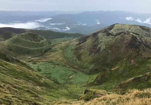 2019年9月22日秋田駒ケ岳へ八合目から男岳周回散歩
