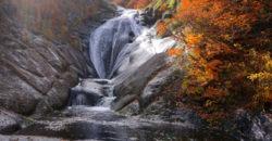 2019年10月27日 桃洞滝を見に奥森吉へ。