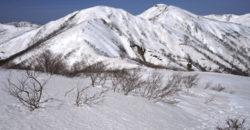 残雪期に目指す山:羽後朝日岳