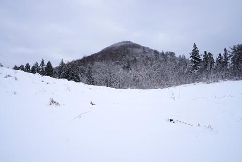 積雪期に登りたい里山:金峰山
