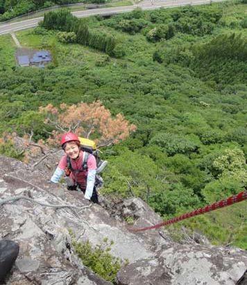 2020年6月21日 鎌倉山でクライミング