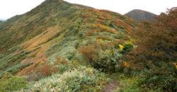 2020年秋の神室山、有屋口コースをリサーチ山行