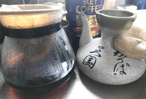 ネルドリップでかっぱカフェ