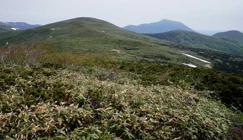 笊森と岩手山