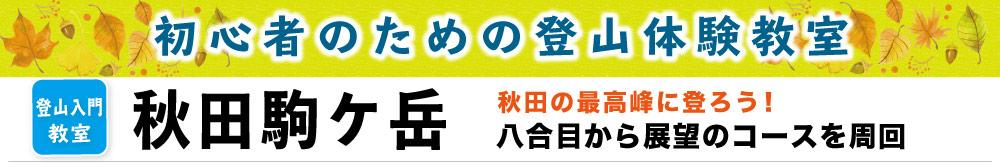 秋田駒ケ岳タイトル